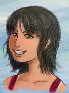 A Sun-kissed Robin