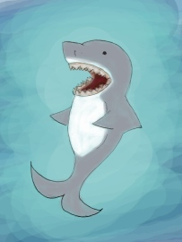 Laughing Shark